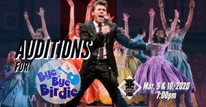 Auditions for Bye Bye Birdie